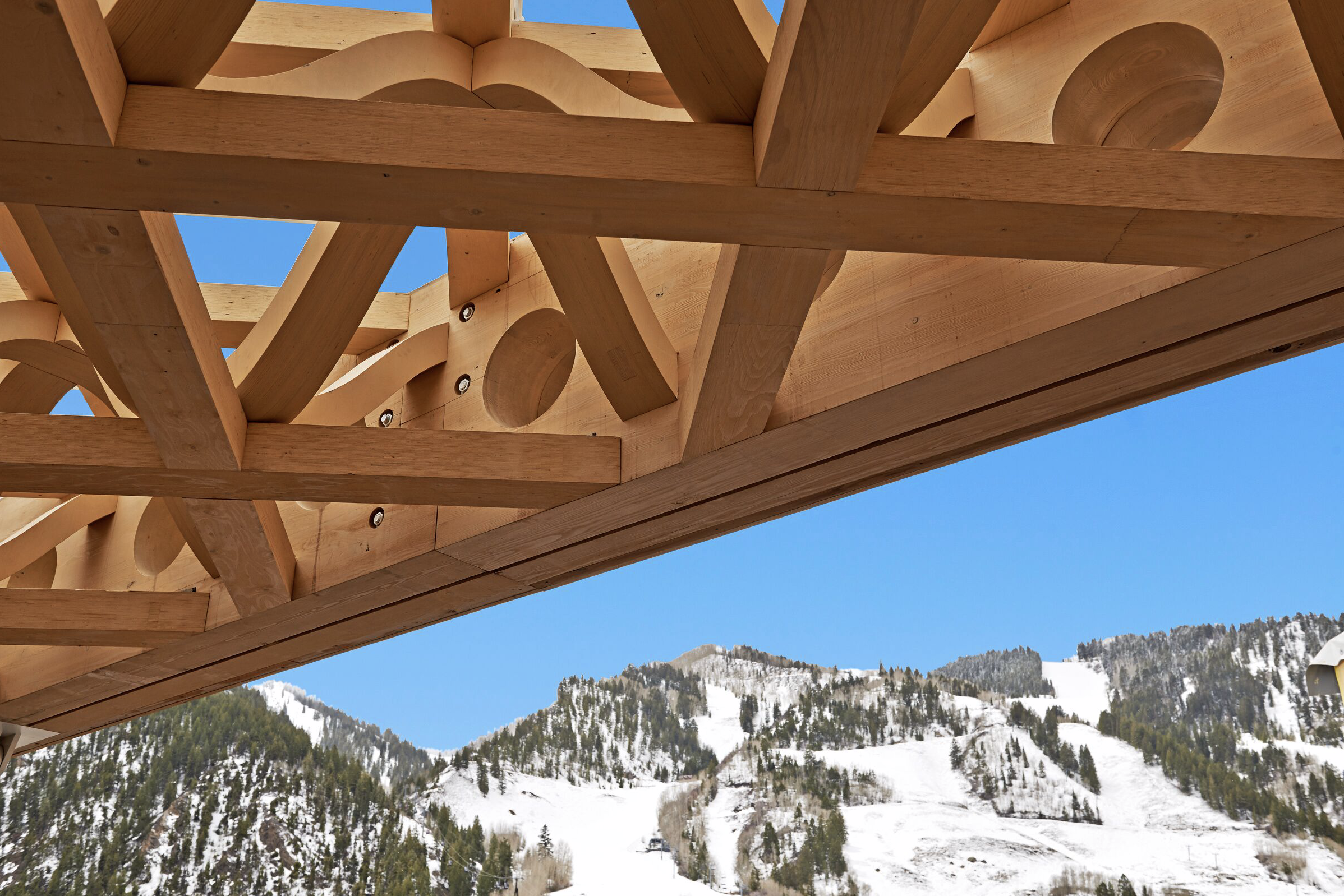 Aspen Art Museum, Aspen, Colorado, Shigeru Bam architect, 2014