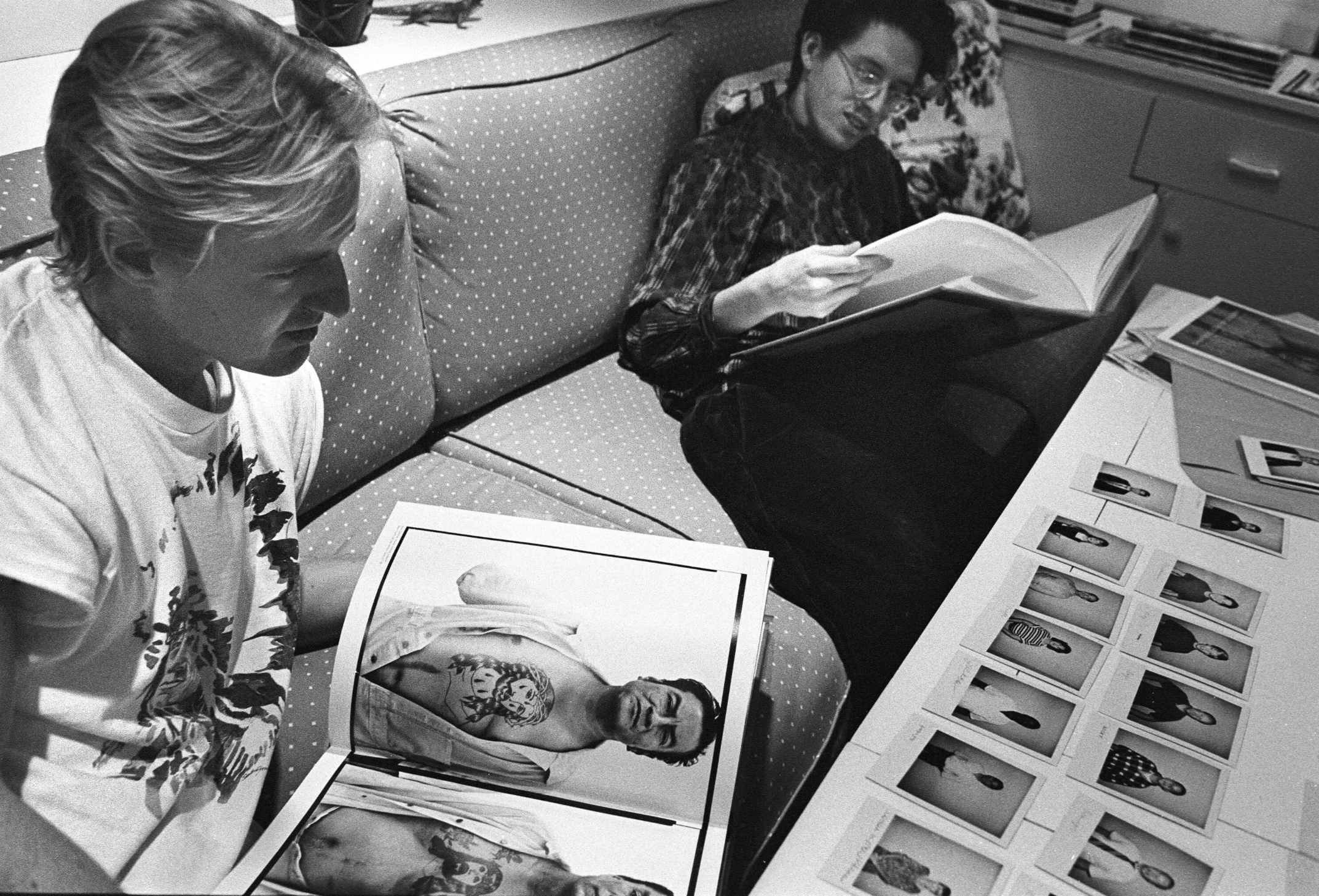 Wes Anderson and Owen Wilson, Dallas, Texas, 1994