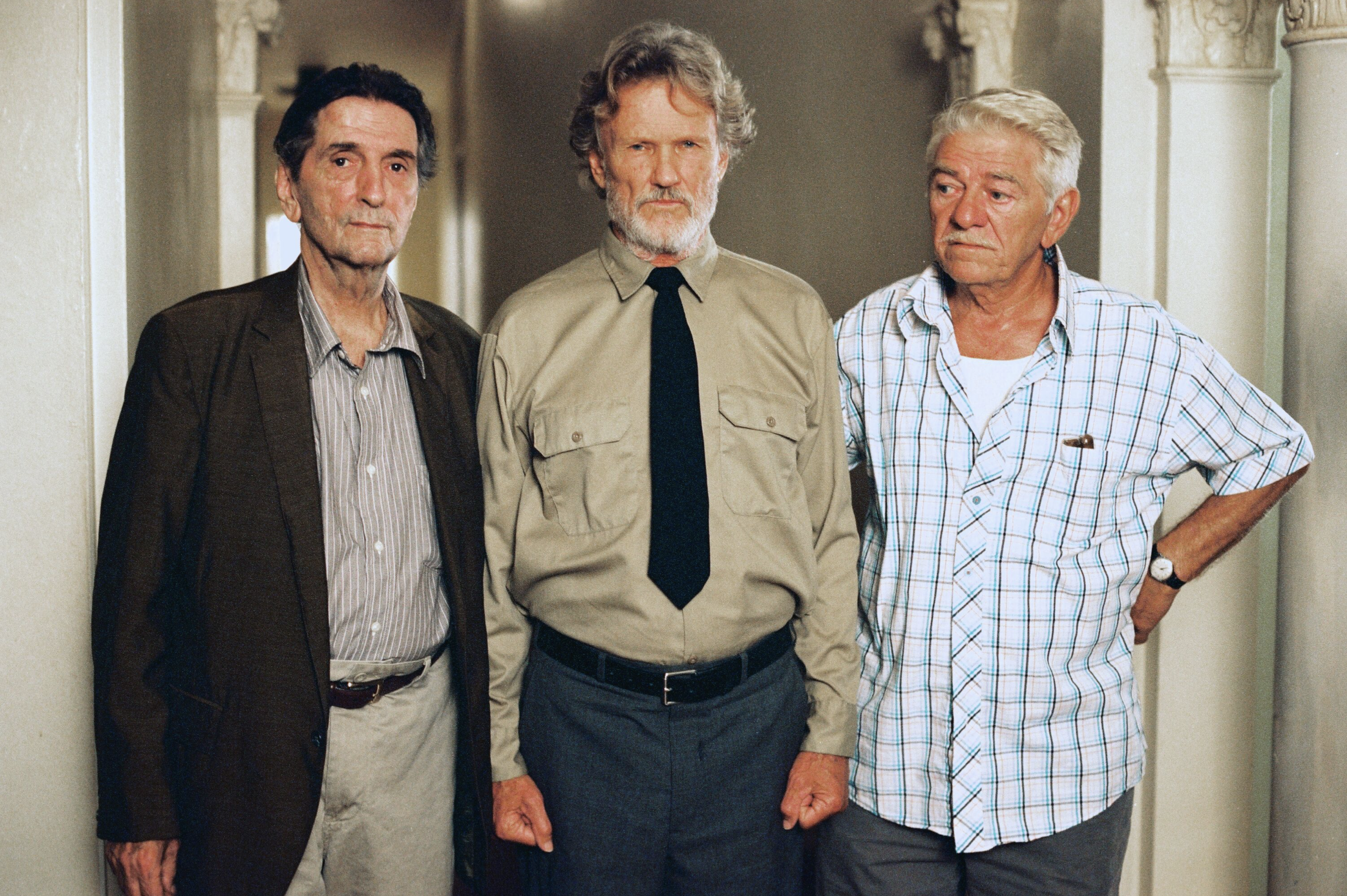 Harry Dean Stanton, Kris Kristofferson and Seymour Cassel Austin, Texas, 2003