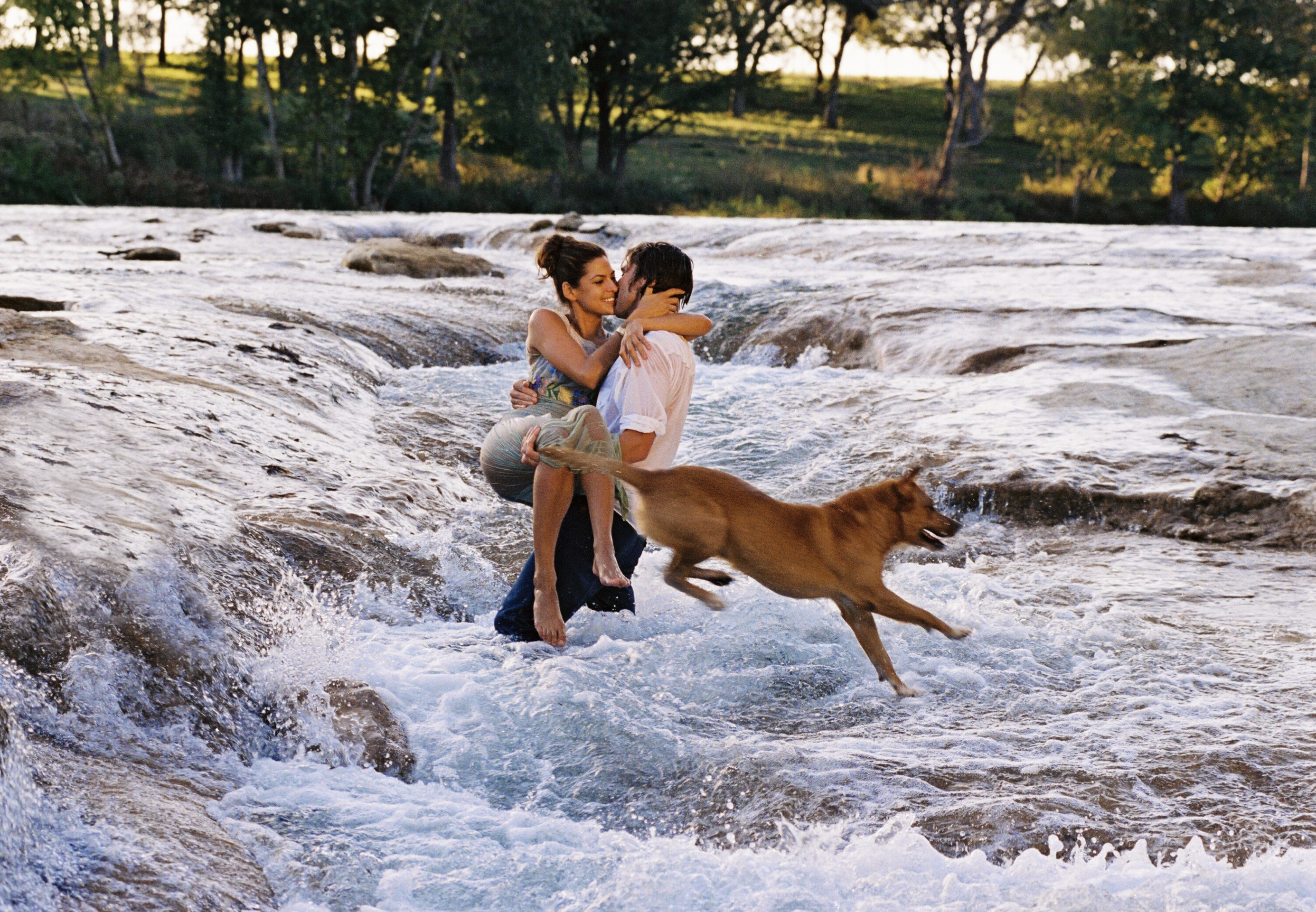 Luke Wilson and Eva Mendes, Wimberley, Texas, 2003