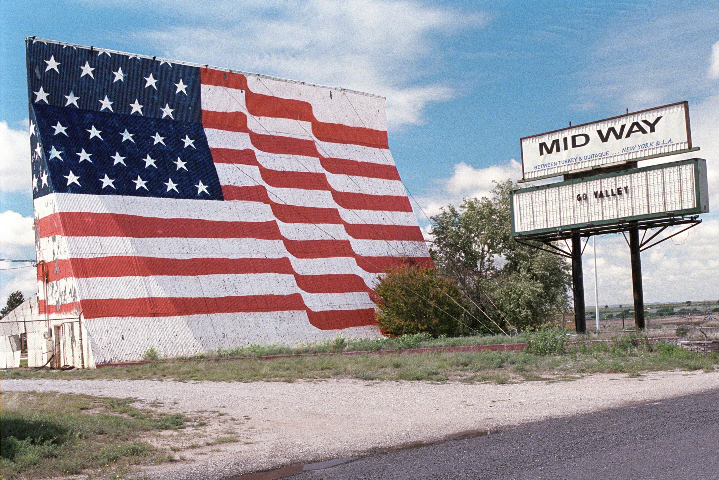 Midway Drive-in Theater, Quitaque, Texas, 2009