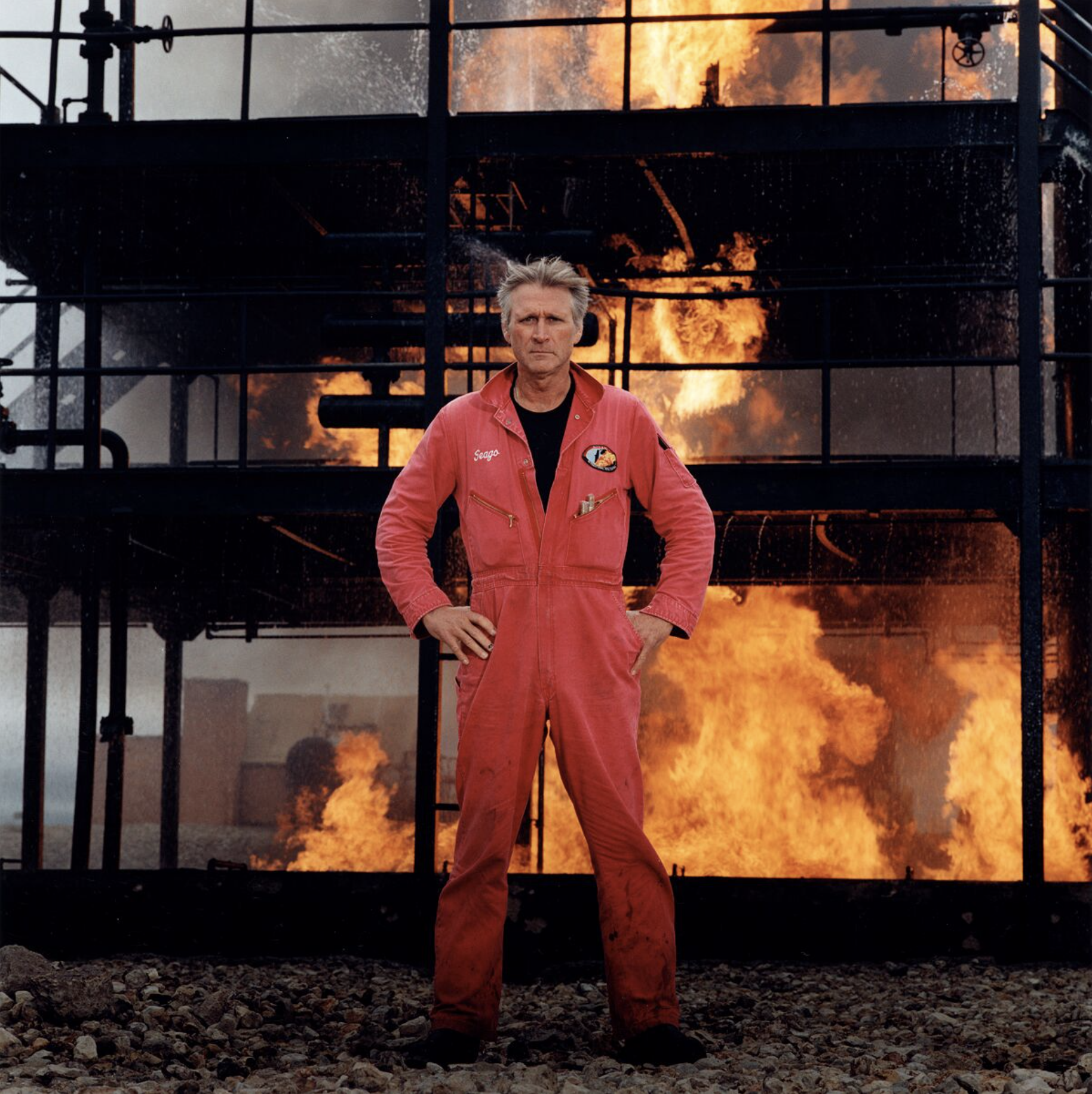 Oil-well Blowout Specialist, Houston, Texas, 2003