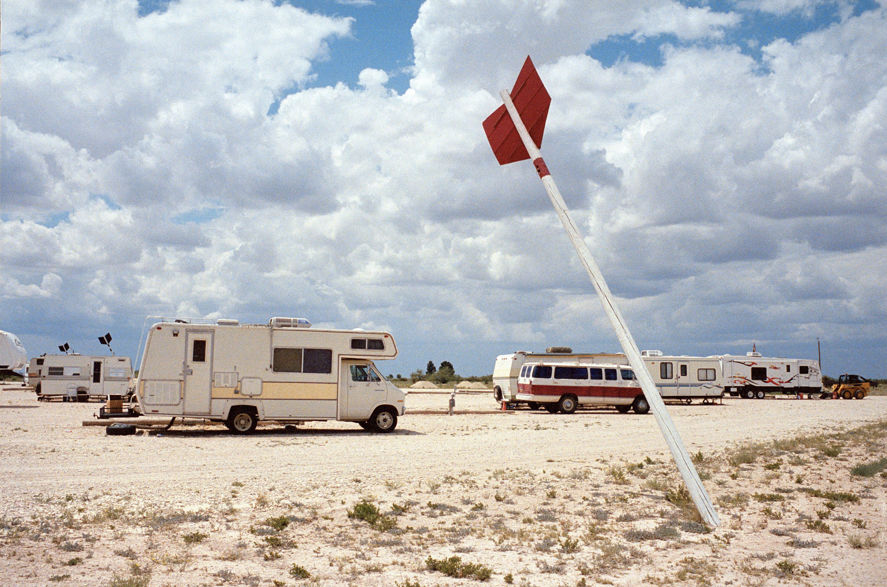 Comanche Land RV Park, Fort Stockton, Texas, 2007