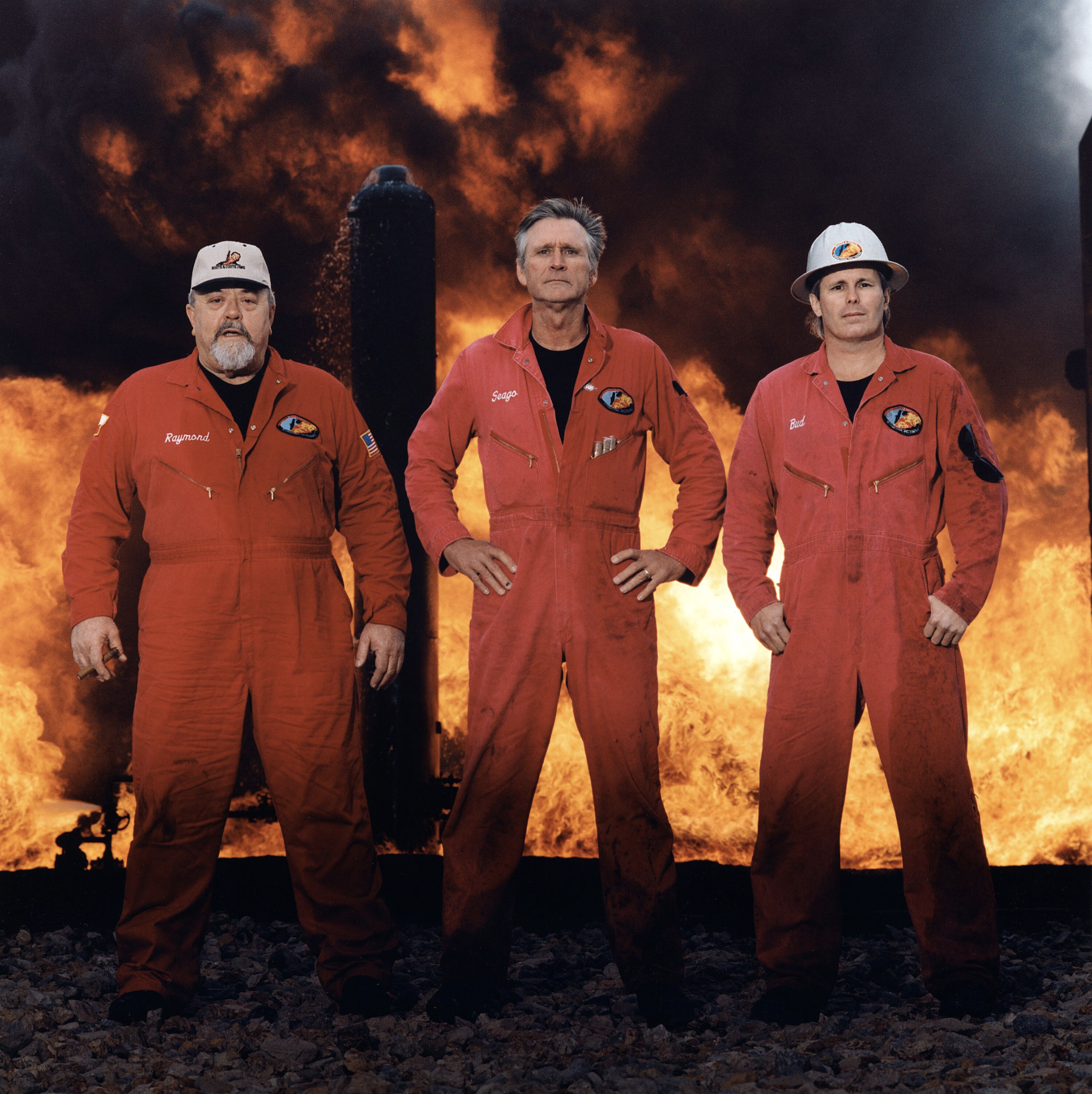 Oil-well Blowout Specialists, Houston, Texas, 2003