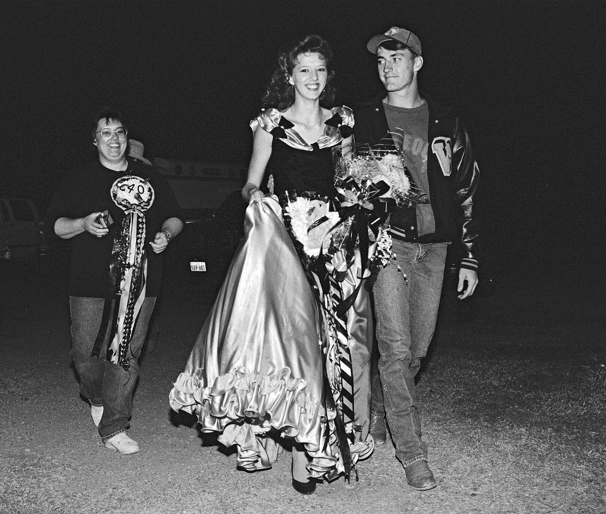 Homecoming Queen and Her Boyfriend, Woodson, Texas, 1992