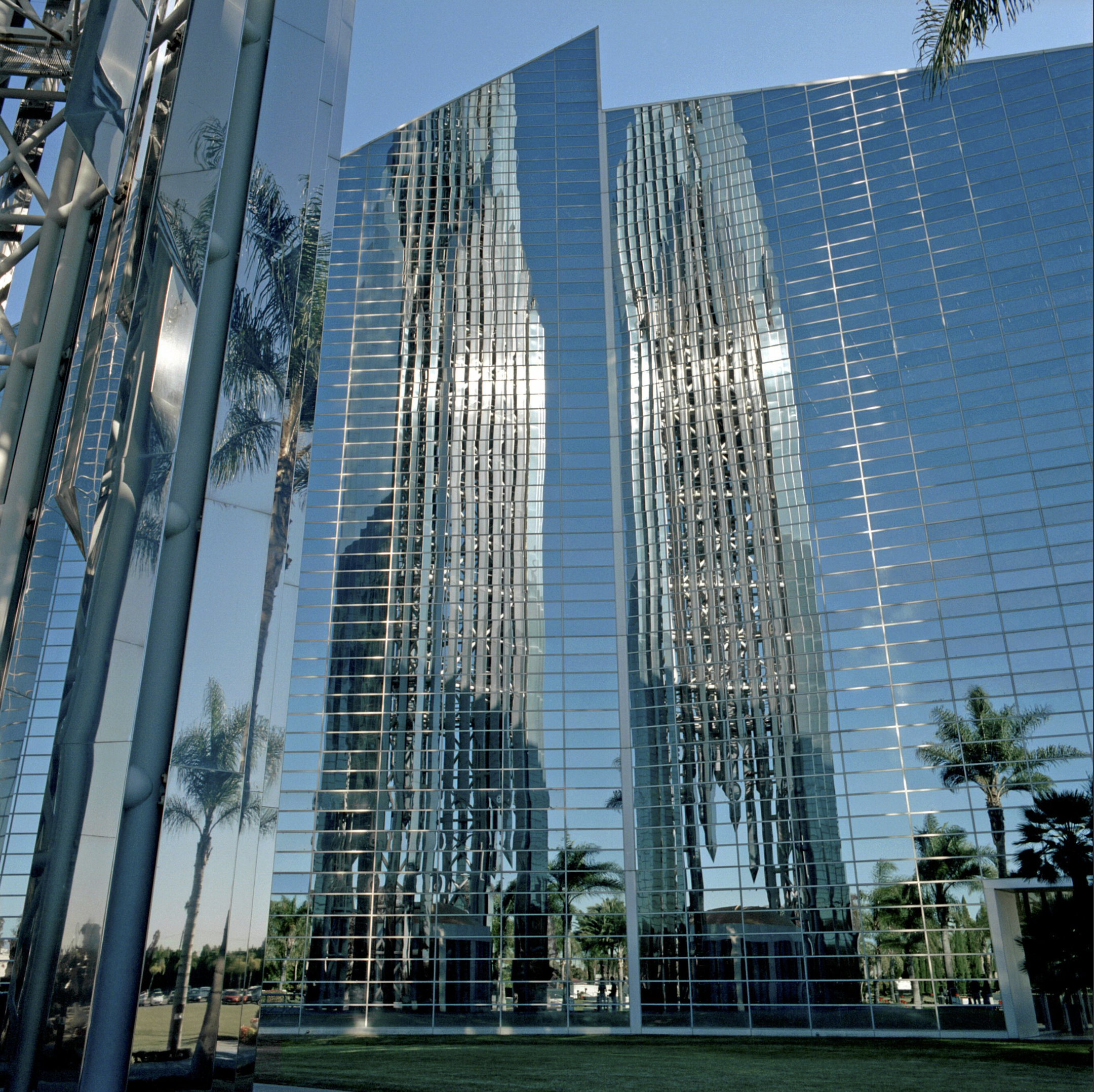 Crystal Cathedral, Los Angeles, California, Philip Johnson architect, 2005