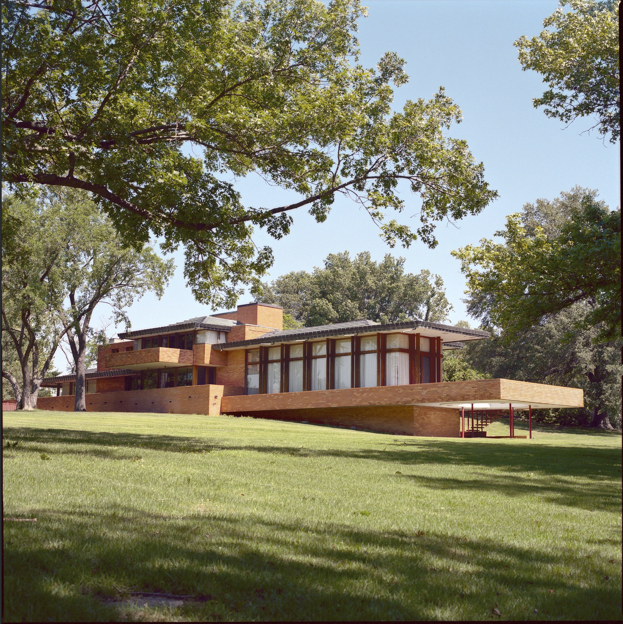 Price House, Bartlesville, Oklahoma, Frank Lloyd Wright architect, 2007