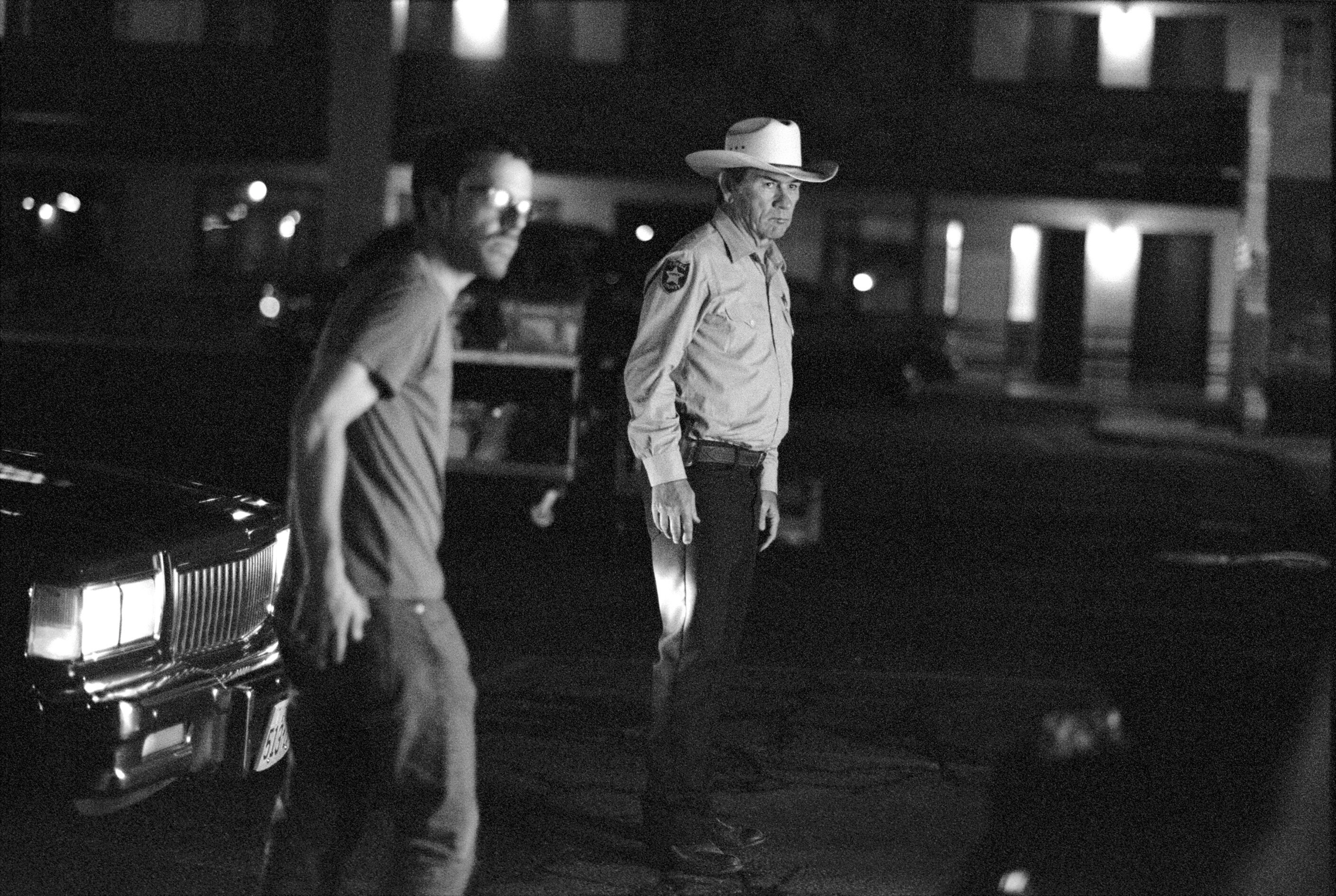 Ethan Coen and Tommy Lee Jones, Albuquerque, New Mexico, 2006