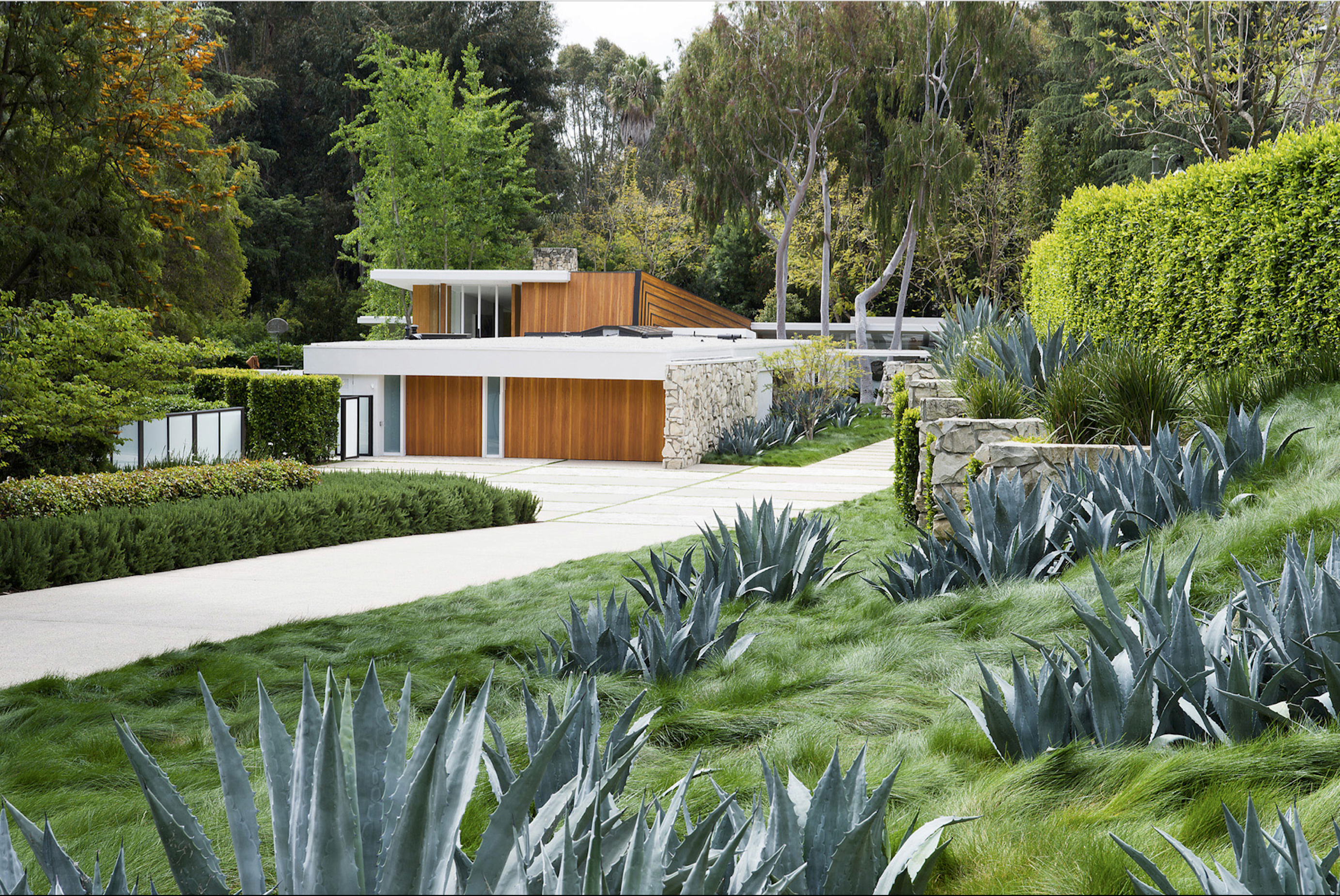 Gary Cooper House, Los Angeles, California, Quincy Jones architect, 2012