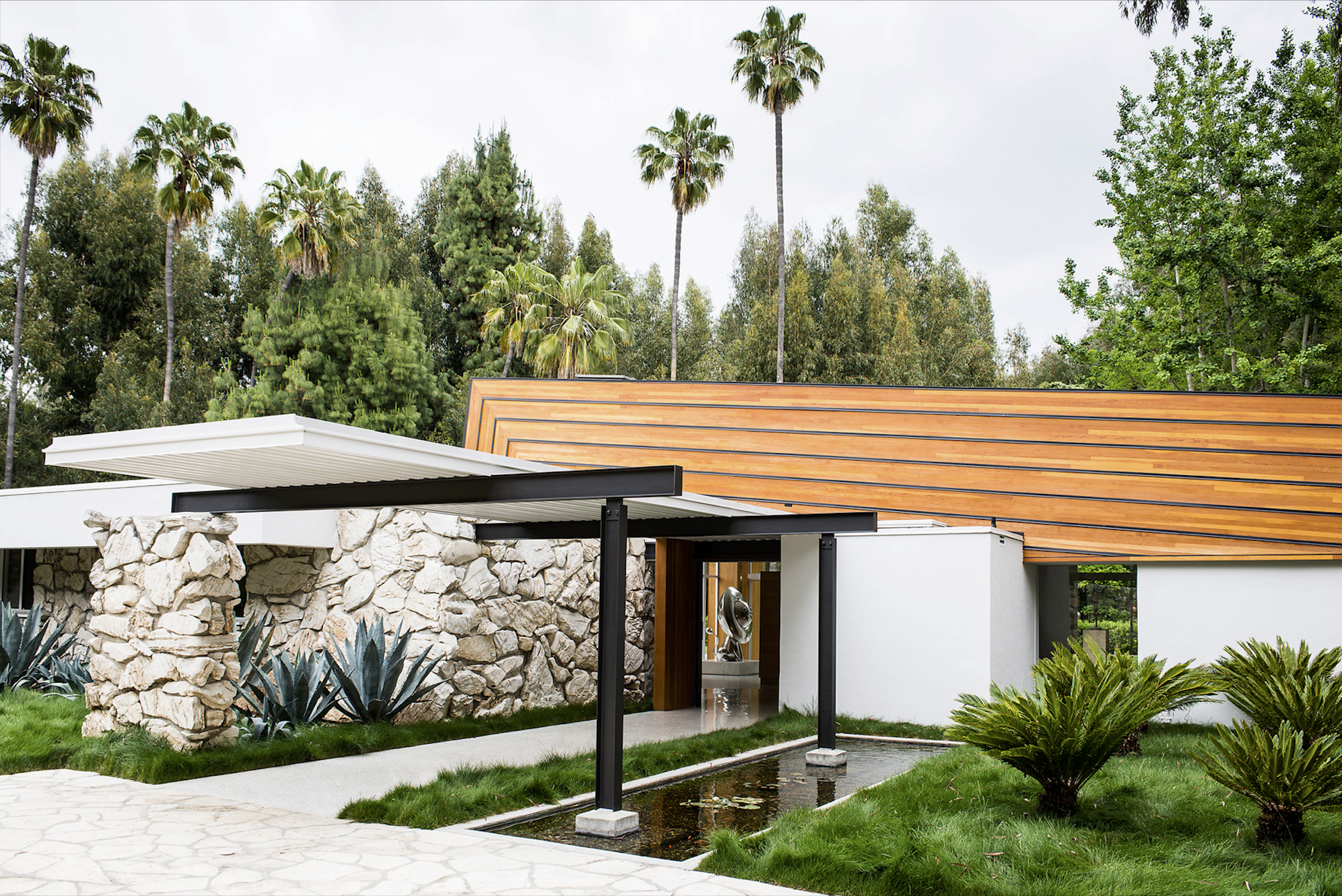 Gary Cooper House Los Angeles, California, Quincy Jones architect, 2012