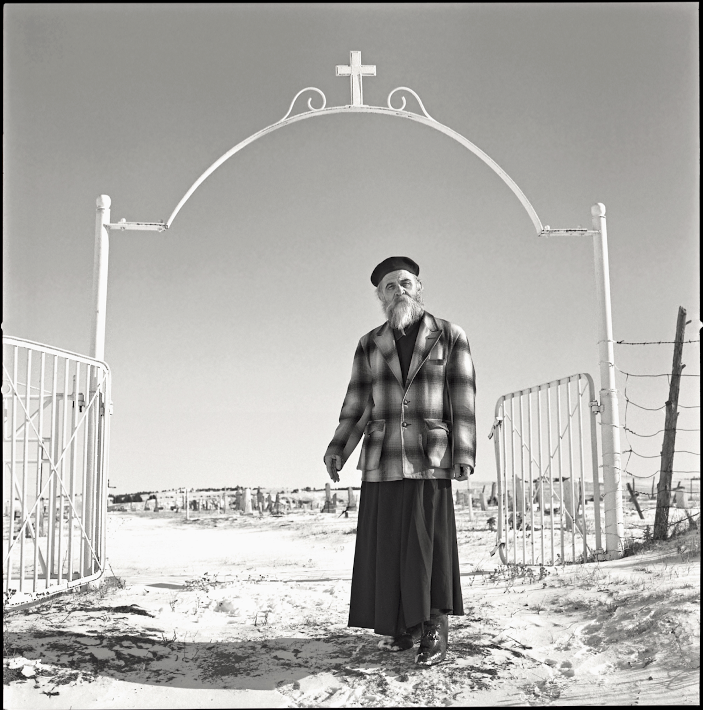 Brother Simon, The Pine Ridge Indian Reservation, South Dakota, 1996