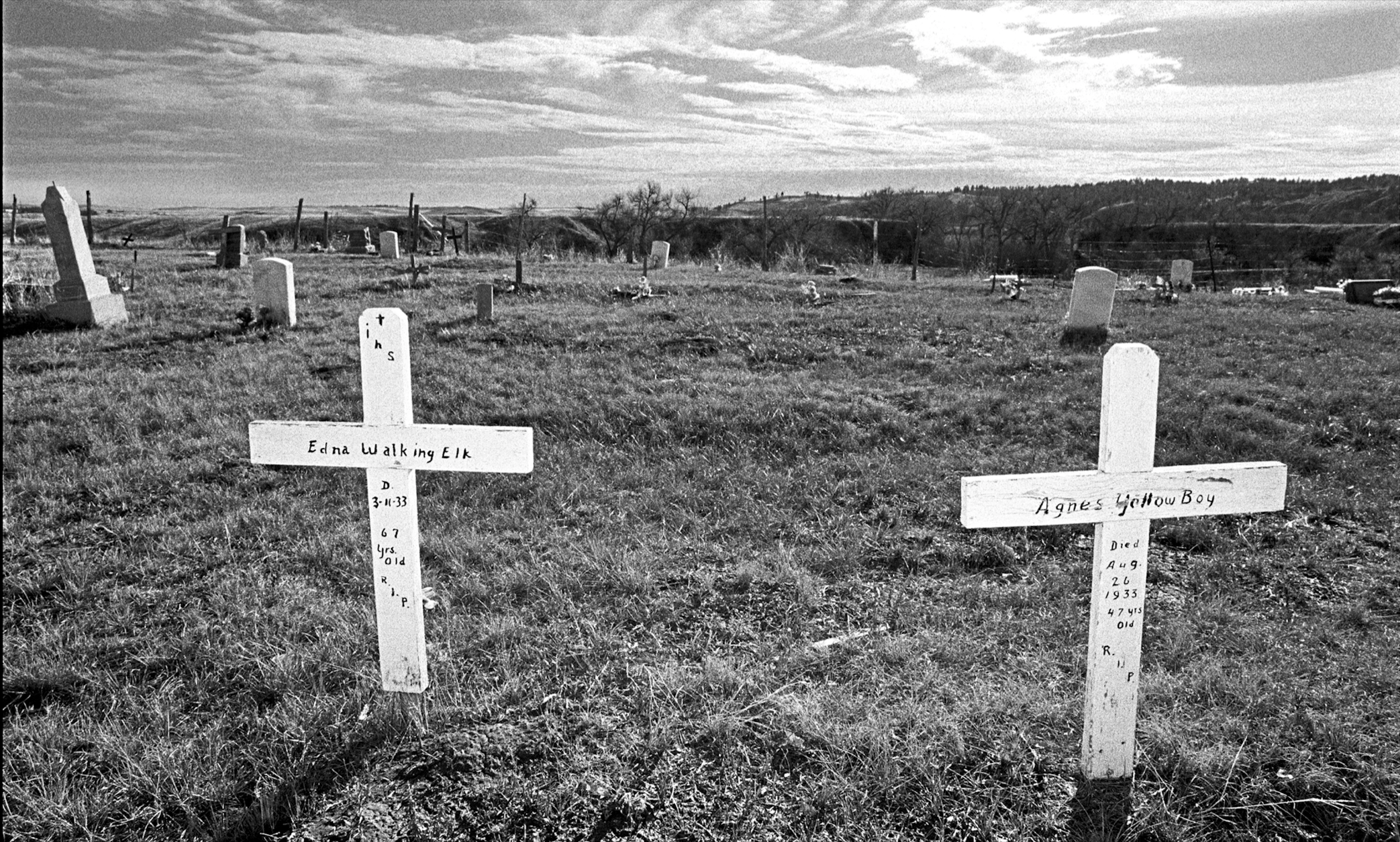 Cemetery, The Pine Ridge Indian Reservation, South Dakota, 1996